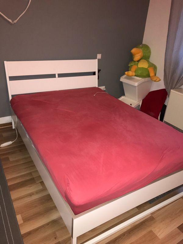 ikea bett matratze gebraucht kaufen nur 4 st bis 60. Black Bedroom Furniture Sets. Home Design Ideas