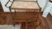 Teewagen Servierwagen Tisch