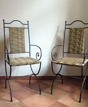 Handgefertigte marokkanische Stühle
