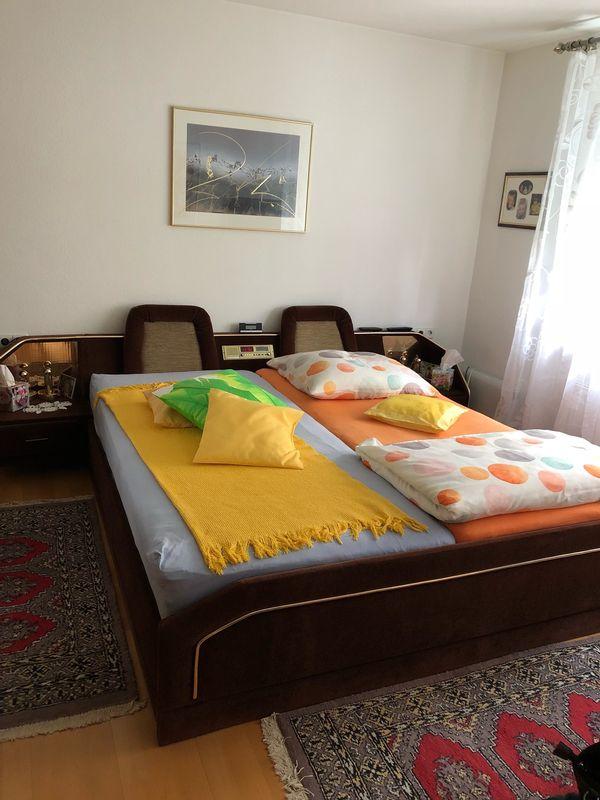 Bett 180x200 mit Bettkasten und Matratzen in Waiblingen - Betten ...