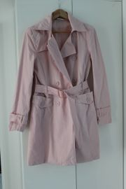 Rosa eleganter Mantel