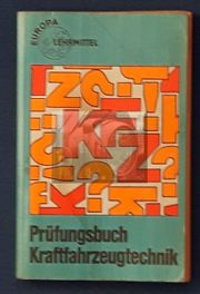 Prüfungsbuch Kfz.- Technik