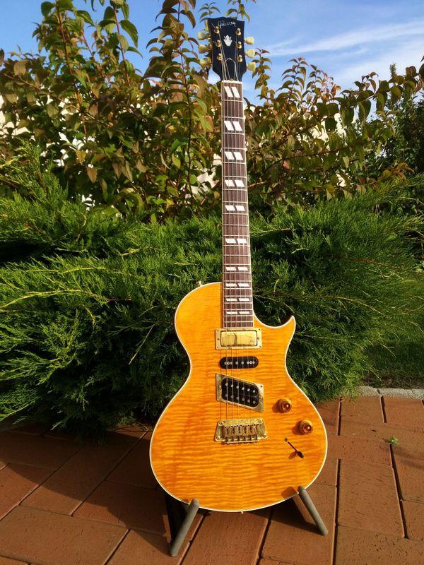Gibson Nighthawk - Eckental - Tolle Gibson Nighthawk Standard von 1996, USA made. Wurde nur von mir gespielt, prägnanter Sound, vielfältig einsetzbare Gitarre. Sehr guter Zustand. Inkl. Gibson Koffer. Nur Abholung, kein Versand. - Eckental