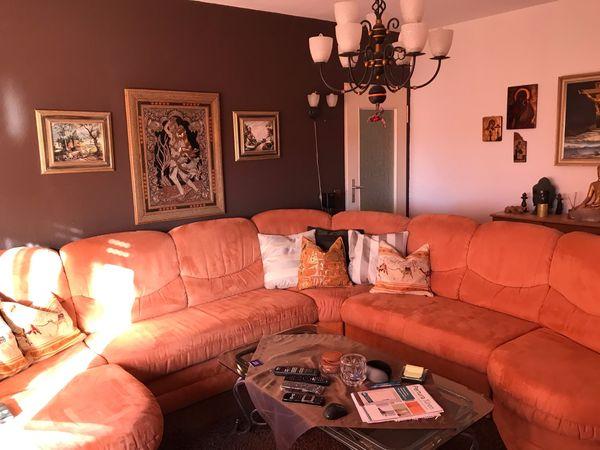 Couch Sofa Und Sessel Garnitur Ausziehbar Verstellbare Ruckenlehne