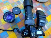 Spiegelreflexkamera Fujifilm FinePix S1Pro Wechselobjektive