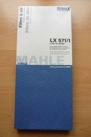 MAHLE Luftfilter LX 571 1