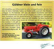 Modelltraktor Güldner G60