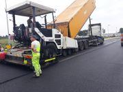 Asphalt asphaltieren Asphalt giessen Verlegung