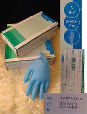 3 Packungen VASCO Nitril blue
