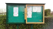 Suche Schaukasten für Kleingartenverein