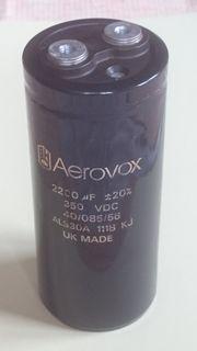 Aerovox Elektrolytkondensator 2200uF 350 VDC