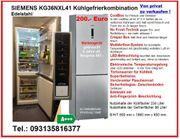 Kühlschrank - Kühlgefrierkombination SIEMENS