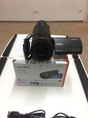 4K Sony Kamera fdr-ax33