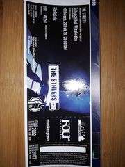 Ticket THE STREETS 20 02