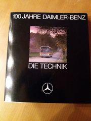 Neues Originalbuch 100 Jahre Daimler-Benz