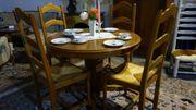 Esstisch Holz mit 4 Stühlen