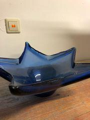 Schale Stern blau Glas