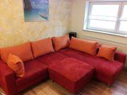 Couch inkl. Hocker