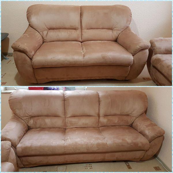 Neuwertige Polstergarnitur Sitzgruppe Sofa Couch Garnitur In