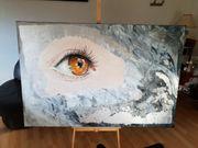Abstrakte Acrylmalerei au Leinwand 100