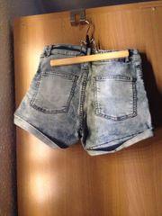 highwaist shorts washed