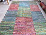 Gewebter bunter Teppich Hand Woven