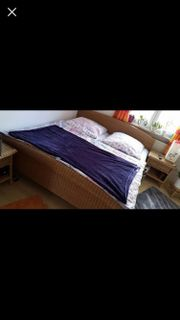 Doppelbett/Matratze/Lattenrost/
