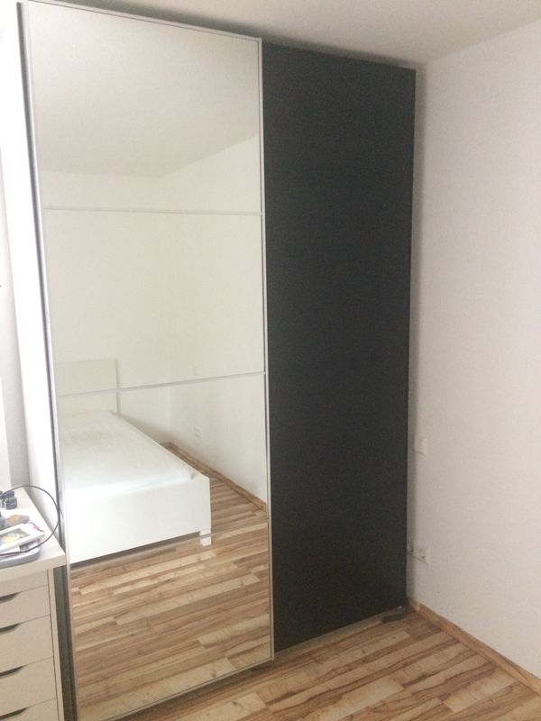Ikea Pax Schrank 2 36x1 5 M Oder Nur Schiebeturen 2x75cm In