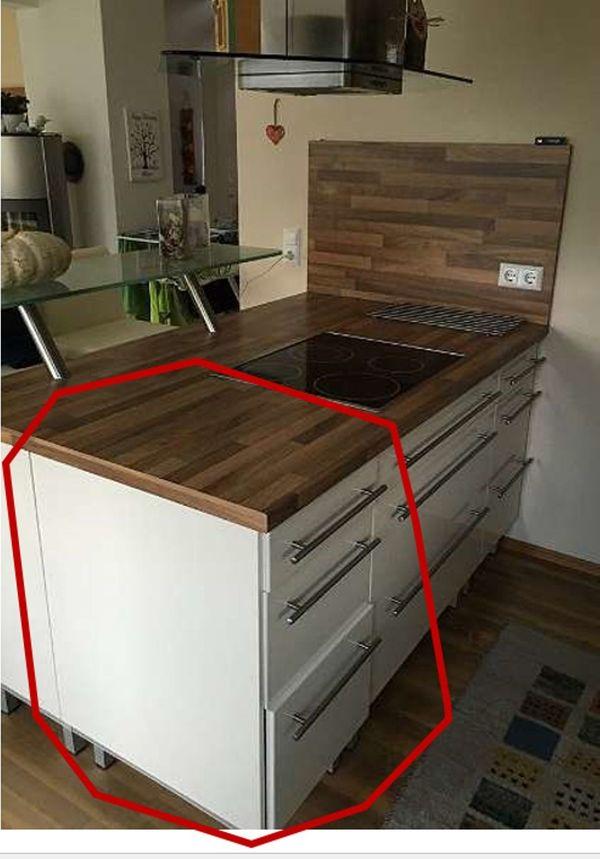 Küche IKEA Faktum Unterschrank 3x Auszug in Kaltbuch - Küchenmöbel ...