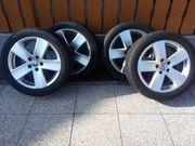 VW Alufelgen 7 5Jx17H2 Sommerreifen
