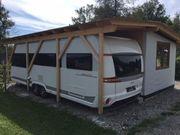 24qm Luxus Wohnwagen mit 20qm
