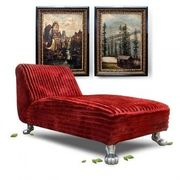 Bretz Liege-Sofa Longchair rot Designklassiker