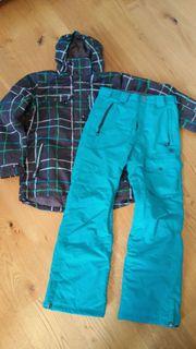 Skijacke und Hose