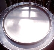 Deko Tablett aus Stahl von