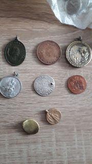 Verkaufe Münzen