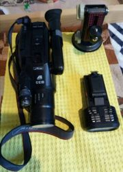 1 Komplette Videokamera