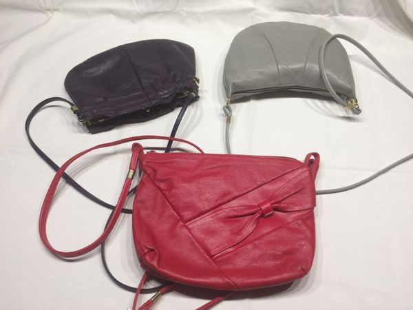 Handtaschen (lila / grau) - » Taschen, Koffer, Accessoires