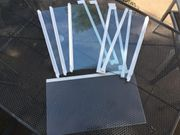 5x Einlegeboden für Kühlschrank Glasplatten
