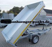 PKW Anhänger Kipper Rückwärtskipper 1500kg