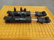 2 x Hydraulikzylinder doppelwirkend