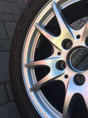 Mercedes Alufelgen mit Winterreifen Top