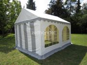 Gartenzelt Partyzelt 3x4m PVC wasserdicht