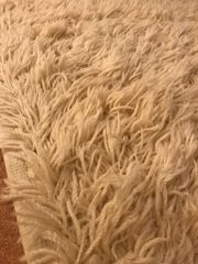 Ikea Teppich Elfenbeinweiß