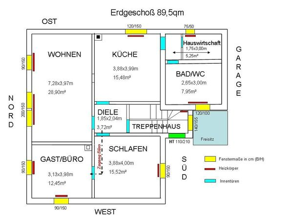 Schöne 3 ZKB » Vermietung 3-Zimmer-Wohnungen
