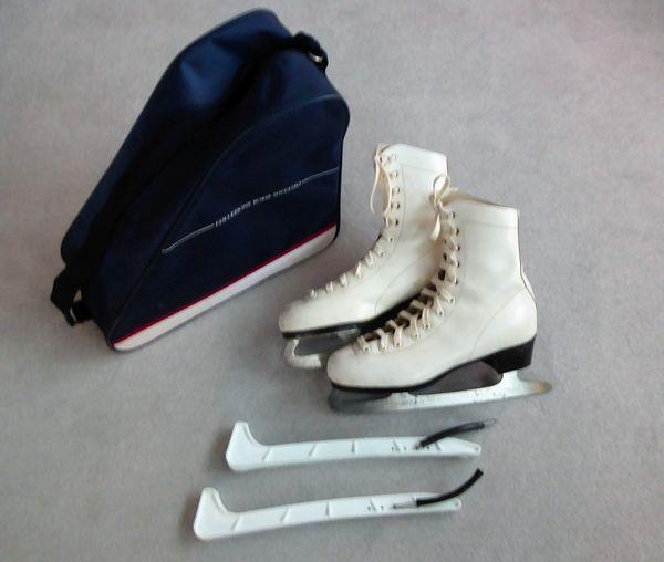 HUDORA Damen Leder Schlittschuhe Eislaufschuhe