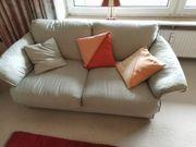 Sofa Couch Sessel und Hocker