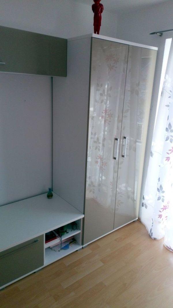 Wohnwand Mit Kleiderschrank In Augsburg Kinder Jugendzimmer