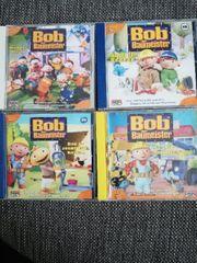 8 CDs Bob der Baumeister