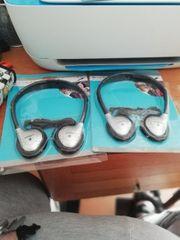 2 Kopfhörer nagelneu zu verkaufen