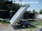 PKW Anhänger Grosser TANDEM - Kipper